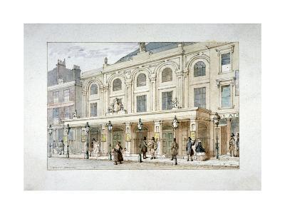 Surrey Theatre and Surrey Coffee House on Blackfriars Road, Southwark, London, C1835-Thomas Hosmer Shepherd-Giclee Print