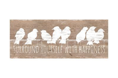 Surround with Happiness-Patricia Pinto-Premium Giclee Print