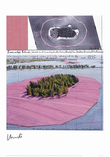 Surrounded Islands, Miami III-Christo-Collectable Print