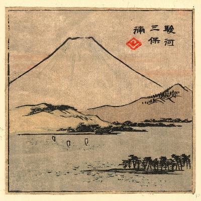 Suruga Miho No Ura-Utagawa Hiroshige-Giclee Print