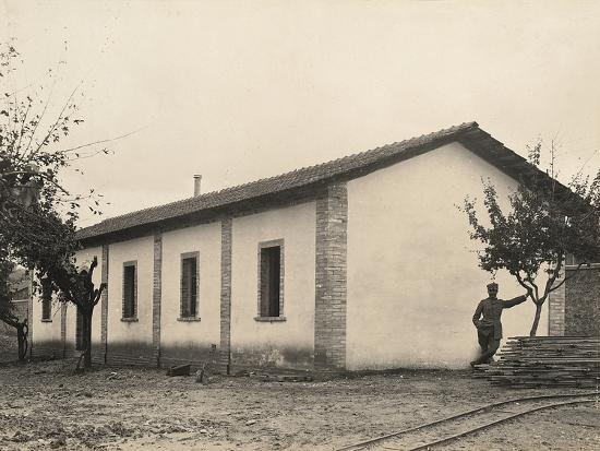 Surveillance Troops' Kitchen and Refectory in the Servigliano Camp, Province of Ascoli Piceno--Photographic Print