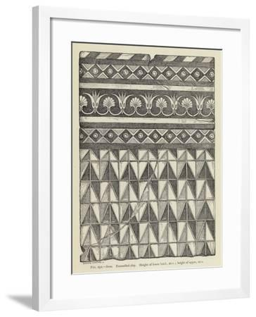 Susa, Enamelled Clay, Height of Lower Brick, 20 C; Height of Upper, 12 C--Framed Giclee Print