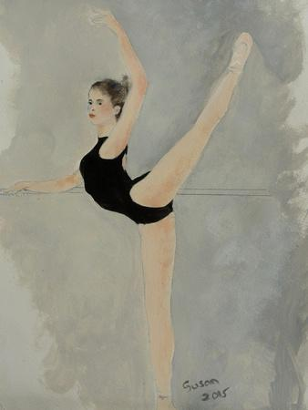 Ballet Practice at Bar