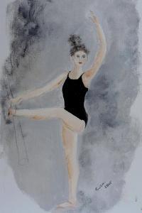 Ballet Practice at the Bar 2015 by Susan Adams