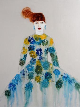 Blue Dress, 2016