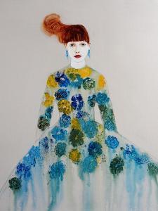 Blue Dress, 2016 by Susan Adams