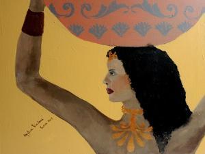 Egyptian Priestess 2015 by Susan Adams