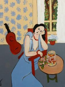 Matisse with Goldfish, 2016 by Susan Adams