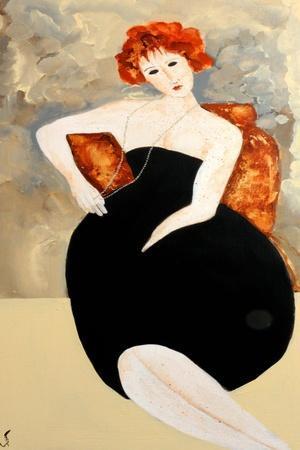 Modigliani with Pearls, 2016