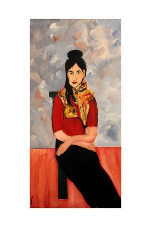Ranee (Updated in Modigliani Style), 2016