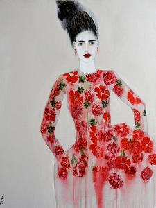 Red Dress, 2016 by Susan Adams