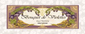 Bouquet de Violettes by Susan Berman