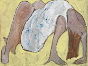 Bending over Backwards, 1995 by Susan Bower