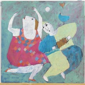 Dancing to His Tune, 2002 by Susan Bower