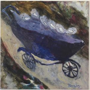 Downhill in a Pram, 2007 by Susan Bower