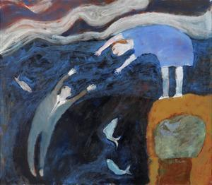 Saving the Man from the Sea, 2003 by Susan Bower