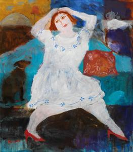 The Red Shoes, 2004 by Susan Bower