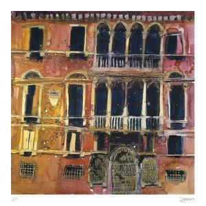 Ancient Facade, Venice by Susan Brown