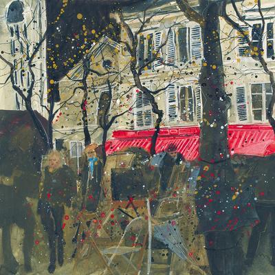 Autumn, Montmartre, Paris
