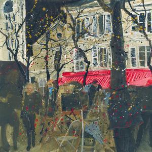 Autumn, Montmartre, Paris by Susan Brown