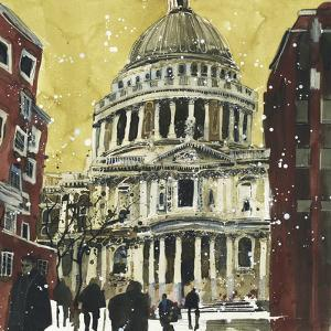 Autumn, St Paul's, London by Susan Brown