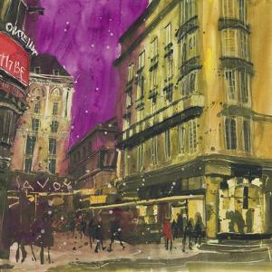 Entrance to the Savoy - London by Susan Brown