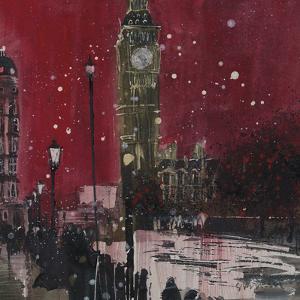 First Snows of Winter, Big Ben by Susan Brown