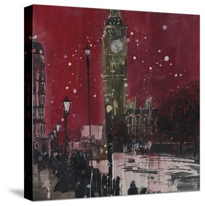 First Snows of Winter, Big Ben by Susan Brown