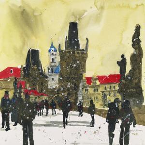 Little Quater, Bridge Tower, Prague by Susan Brown