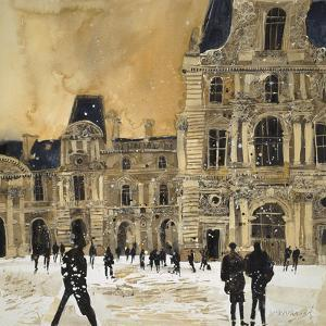 Louvre 5, Paris by Susan Brown