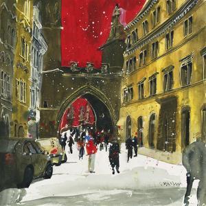 Spanning the Centuries, Prague by Susan Brown