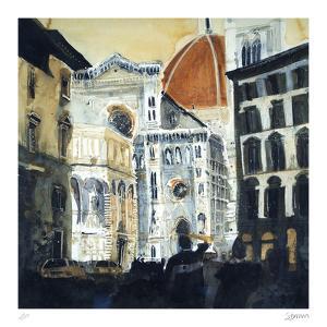 The Basilica di Santa Maria del Fiore, Florence by Susan Brown