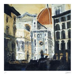 The Basilica di Santa Maria del Fiore, Florence by Susan Brown