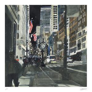 The City that Never Sleeps, New York by Susan Brown