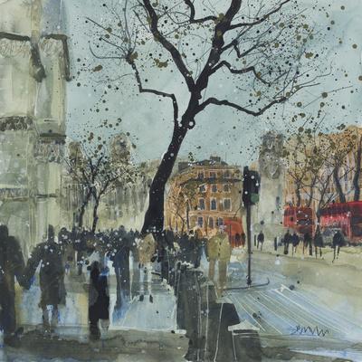Winter Morning - Whitehall, London