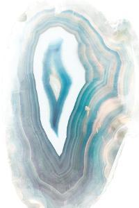 Blue Watercolor Agate by Susan Bryant