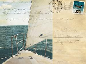 Voyage Postcard I by Susan Bryant