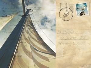 Voyage Postcard II by Susan Bryant
