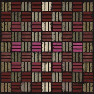 Basketweave Triple Play (Red) by Susan Clickner