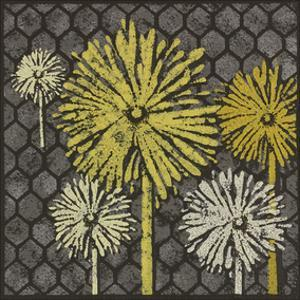 Dandelion on Honeycomb by Susan Clickner