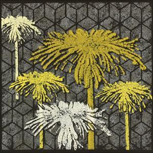 Dandelion on Tumbling Blocks by Susan Clickner