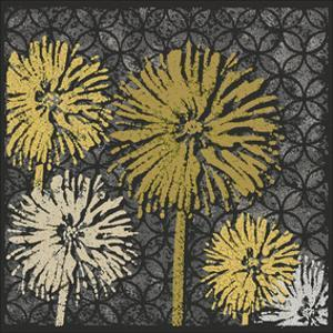 Dandelions on Circles Linked (Yellow) by Susan Clickner