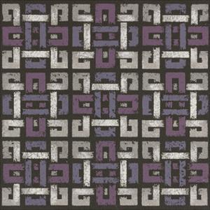 Large Knotted Weave - Plum by Susan Clickner