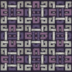 Large Knotted Weave (Purple) by Susan Clickner
