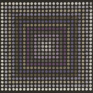 Lots of Dots - Plum by Susan Clickner