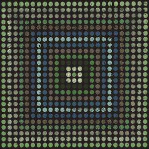 Lots of Dots (Teal) by Susan Clickner