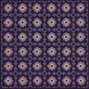 Moroccan Pawn Flower (Purple) by Susan Clickner