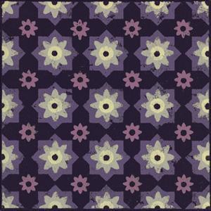 Moroccan Star Flower (Purple) by Susan Clickner
