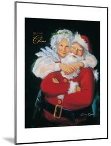 Mr. and Mrs. Claus by Susan Comish