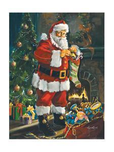 Sneeking Santa by Susan Comish